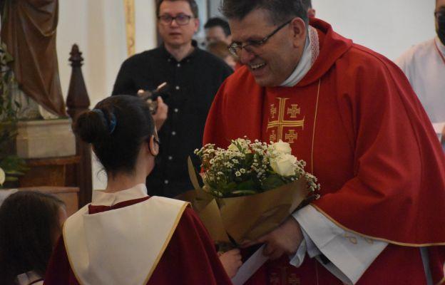 Ks. Zbigniew Słobodecki, proboszcza par. pw. św. Andrzeja Boboli w Miliczu obchodził swoją 30. rocznicę przyjęcia święceń kapłańskich