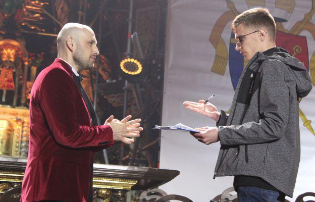 Solista Michał Gasz w rozmowie z naszym redaktorem Hubertem Gościmskim