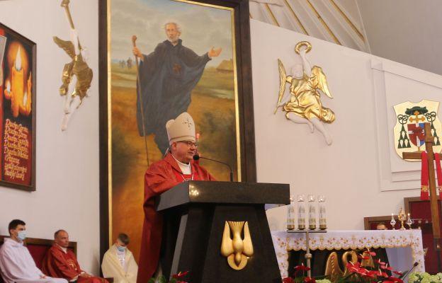Uroczystej Eucharystii przewodniczył bp Jacek Kiciński