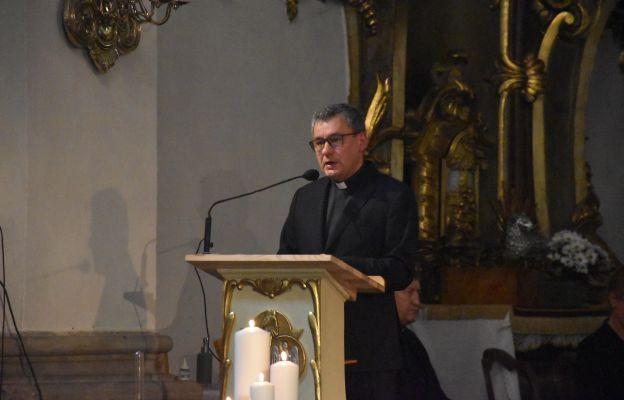Ks. Piotr Filas SDS - proboszcz i kustosz Międzynarodowego Sanktuarium św. Jadwigi Śląskiej w Trzebnicy