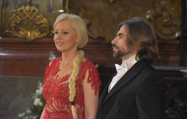 sopranistka Dominika Zamara, tenor Simone Francesco Liconti,