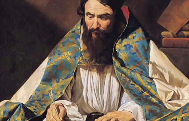 Mathias Stomer, Święty Ambroży (XVll wiek)