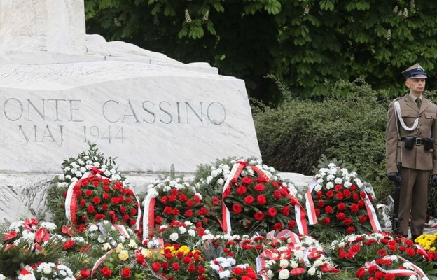 Warszawa: uczczono pamięć walczących w bitwie o Monte Cassino