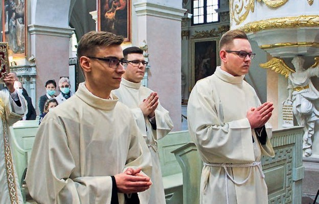 Nowi diakoni proszą diecezjan o modlitwę