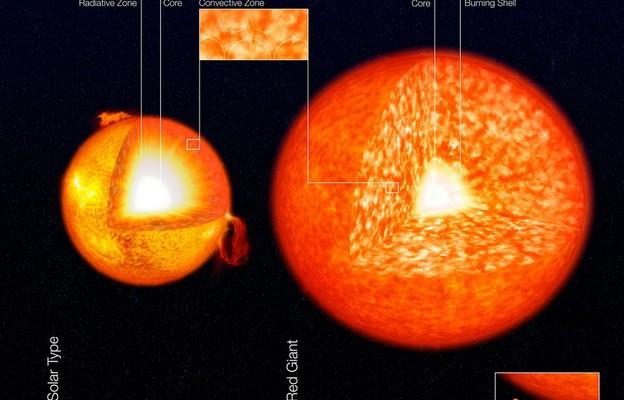 Astronomowie z Warszawy wyjaśniają stuletnią zagadkę czerwonych olbrzymów