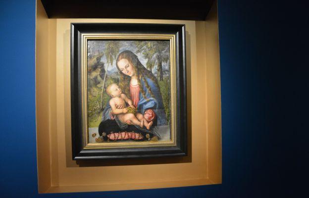 """Arcydzieło """"Madonna pod jodłami"""" Lucasa Cranacha Starszego można obejrzeć już w ten weekend na wystawie!"""