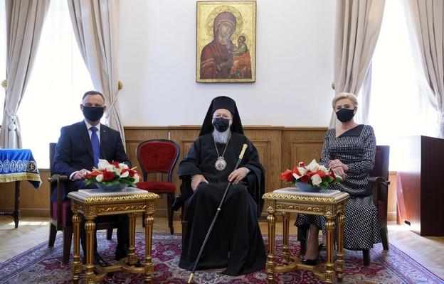 Stambuł: prezydent Duda spotkał się z patriarchą Bartłomiejem