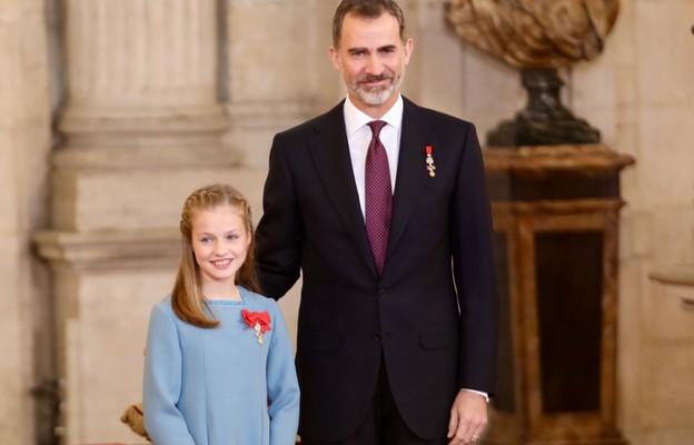Hiszpania: następczyni tronu przyjęła sakrament bierzmowania