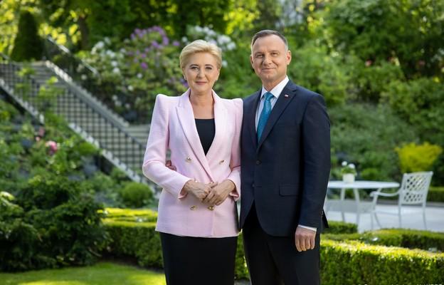 Para Prezydencka złożyła życzenia z okazji Dnia Dziecka