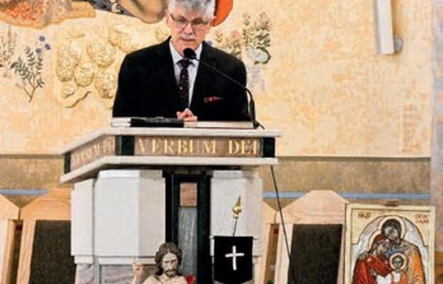 Rekolekcje poprowadził dr Mieczysław Guzewicz