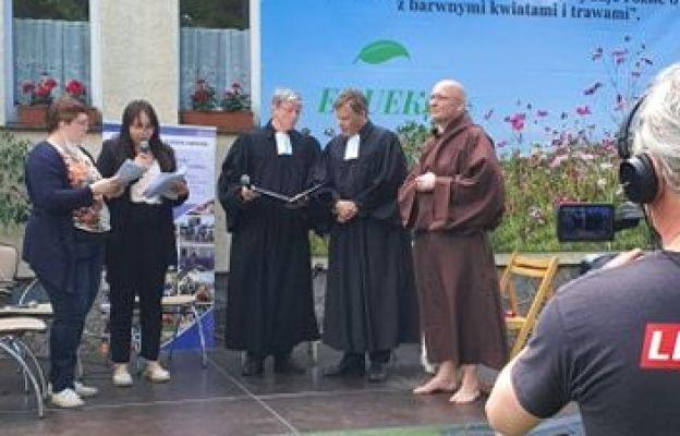 Otwarcie Ogrodu św. Franciszka w Słubicach