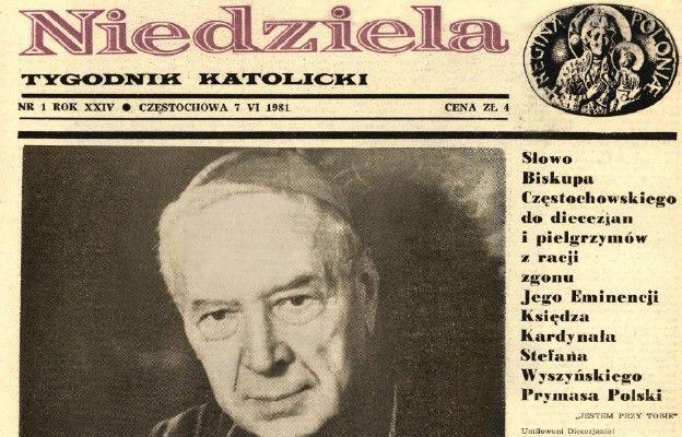 """40 lat temu ukazał się pierwszy numer reaktywowanej """"Niedzieli"""""""
