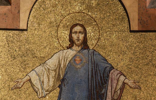 Mozaika Serca Bożego w bazylice przy Kopernika w Krakowie