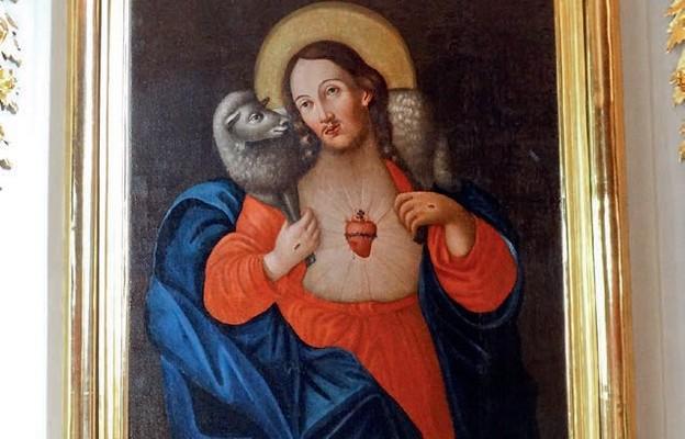 Słynący łaskami obraz Najświętszego Serca Jezusa w Milejczycach