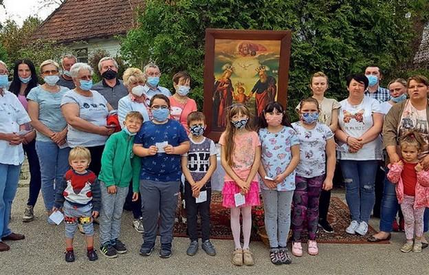 Rodziny ze św. Józefem w Gorzkowie