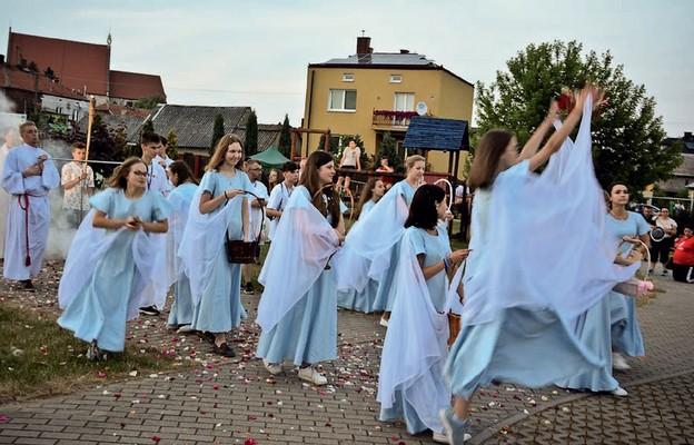 Procesja eucharystyczna w Wiślicy w 2019 r.