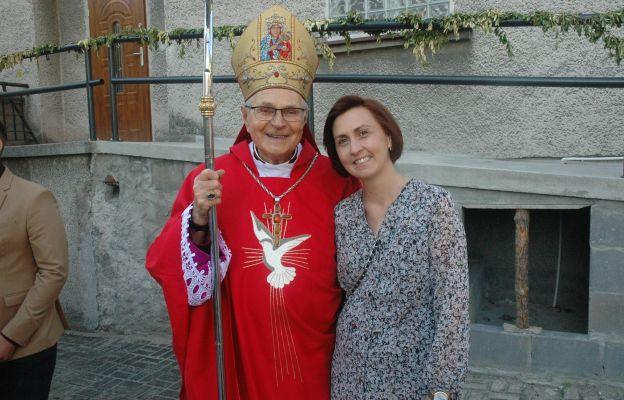 Bp Antoni Długosz z Ewą Słuszniak
