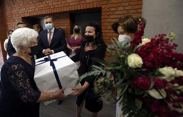 Minister Maląg przekazała życzenia urodzinowe premiera najstarszej, 115-letniej Polce