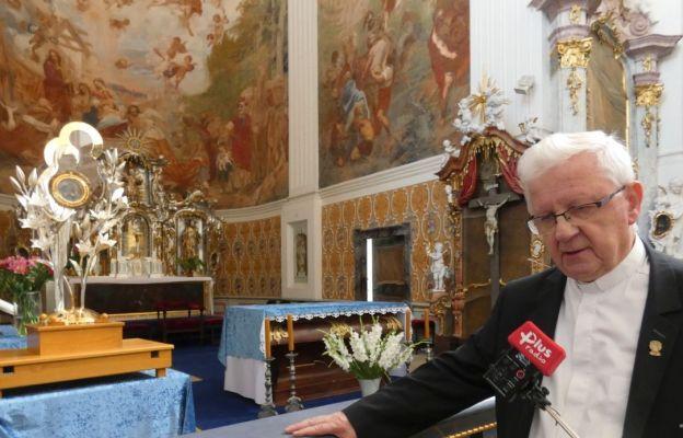Nowa monstrancja w Krzeszowie