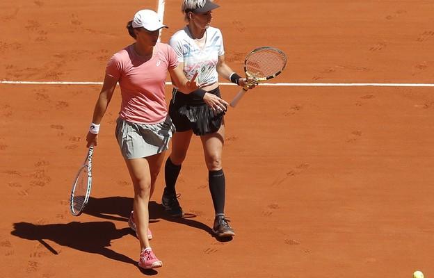 French Open - Świątek przegrała finał debla