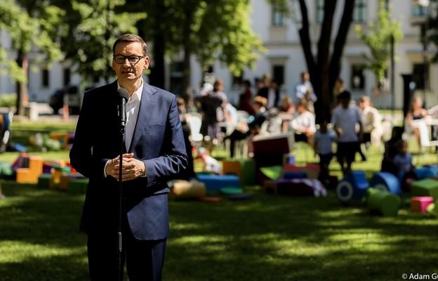 Morawiecki: Program demograficzny w ramach Polskiego Ładu ma wzmocnić Polskę