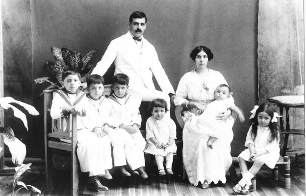 Aristides Sousa Mendes z rodziną