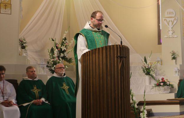 Eucharystii przewodniczył o. Alan Brzyski, minister prowincjalny