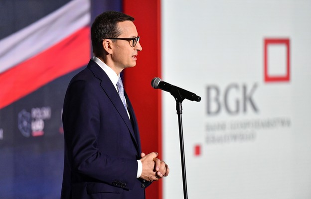Premier o inwestycjach z Polskiego Ładu: w ciągu najbliższych 3 lat mogą przekroczyć 100 mld zł