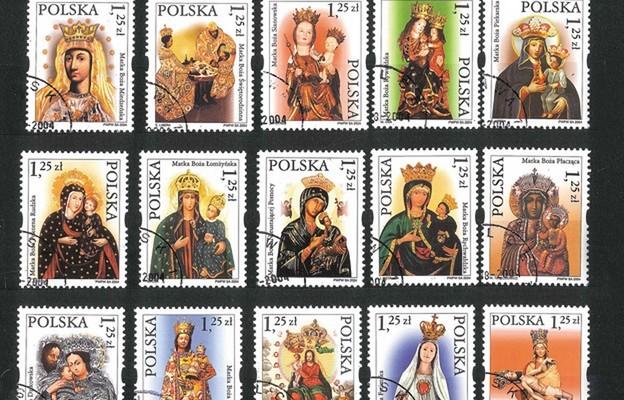 Matka Boża i Jej znaczki