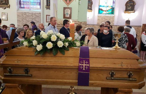 Pogrzeb śp. ks. H. Leśniewskiego