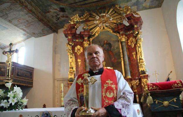 Ks. Stanisław Czerwiński zaprasza na uroczystości odpustowe do Jakubowa