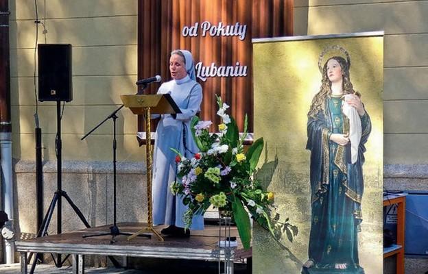 Uczestników wydarzenia powitała Matka Generalna
