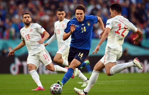 Półfinał: Włochy-Hiszpania