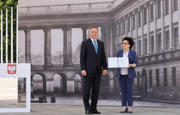 Prezydent: Odbudowa Pałacu Saskiego to wielkie dzieło o charakterze symbolicznym