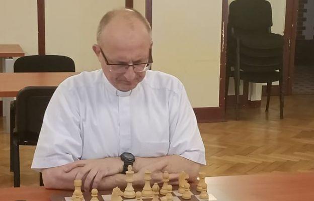 Mistrz Polski Duchowieństwa w Szachach Klasycznych - ks. Sławomir Pawłowski, pallotyn