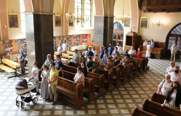 Uroczystości rozpoczęły się Mszą św. w kościele karmelitów
