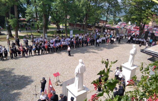 Uroczystość zgromadziła wielu strażaków