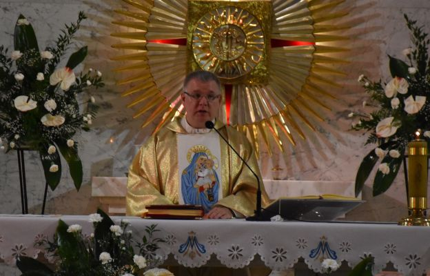 Eucharystii przewodniczył ks. Paweł Cembrowicz