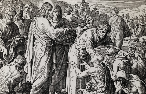 Jezus rozmnaża chleb