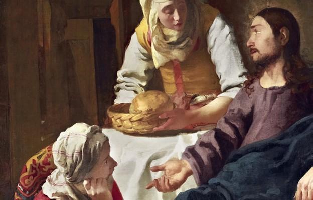 Jan Vermeer, Chrystus w domu Marty i Marii