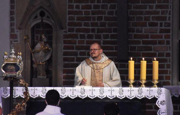 Mszy św. przewodniczył o. Łukasz Miśko OP, przeor wrocławskich dominikanów