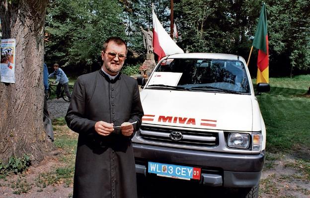Wspieramy misjonarzy grosz za kilometr