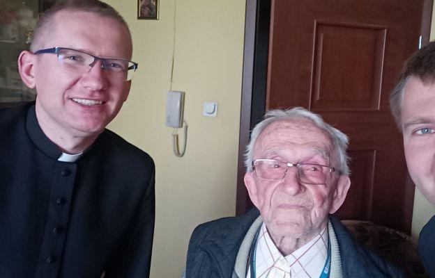 Ks. Franciszek Hanek kończy dziś 100 lat