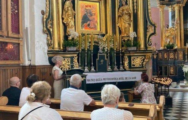 Pielgrzymka Dziadków i Osób Starszych do Sanktuarium Matki Bożej Piotrkowskiej