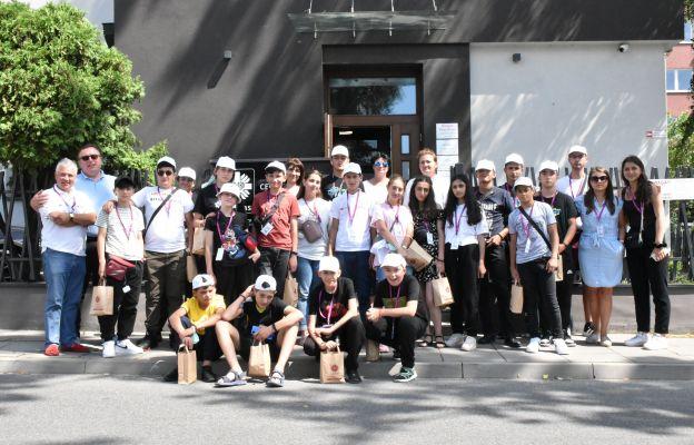 Młodzi Ormianie zwiedzają Polskę