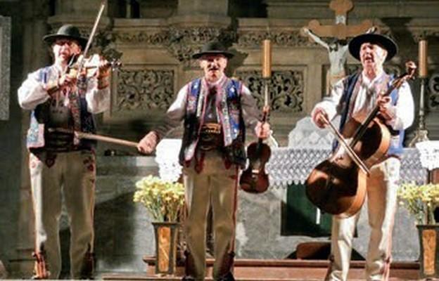 Kapela Jaśka Kubika podczas występu