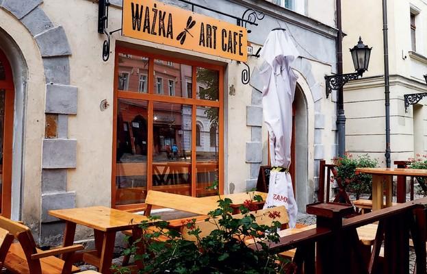 Galerio-kawiarenka mieści się na świdnickim rynku