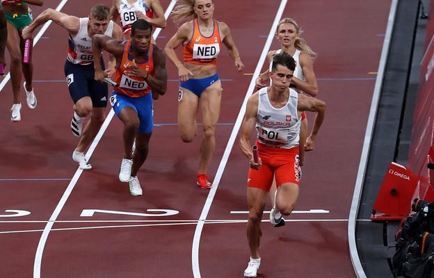 Tokio: lekkoatletyka - polska sztafeta mieszana 4x400 m w finale z rekordem Europy