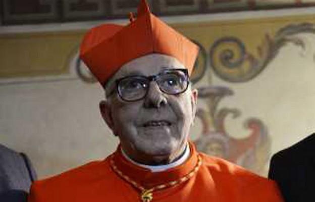 Argentyński kardynał Luis Villalba