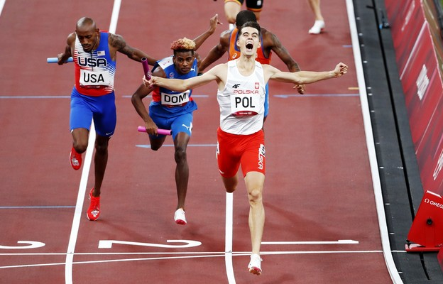Tokio/lekkoatletyka - Duszyński: jaki kraj, taki Michael Johnson